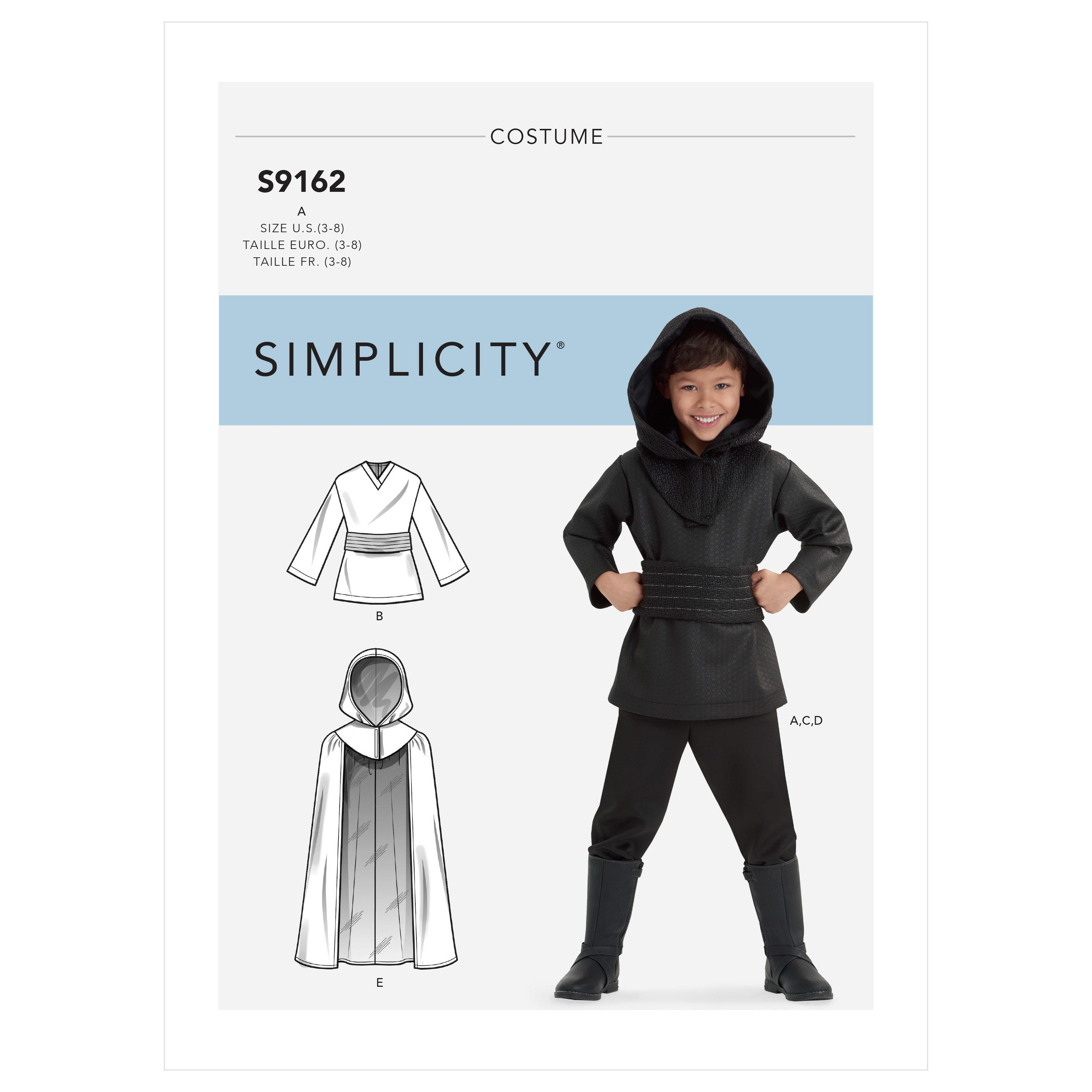 Simplicity S9162 Children's Costumes