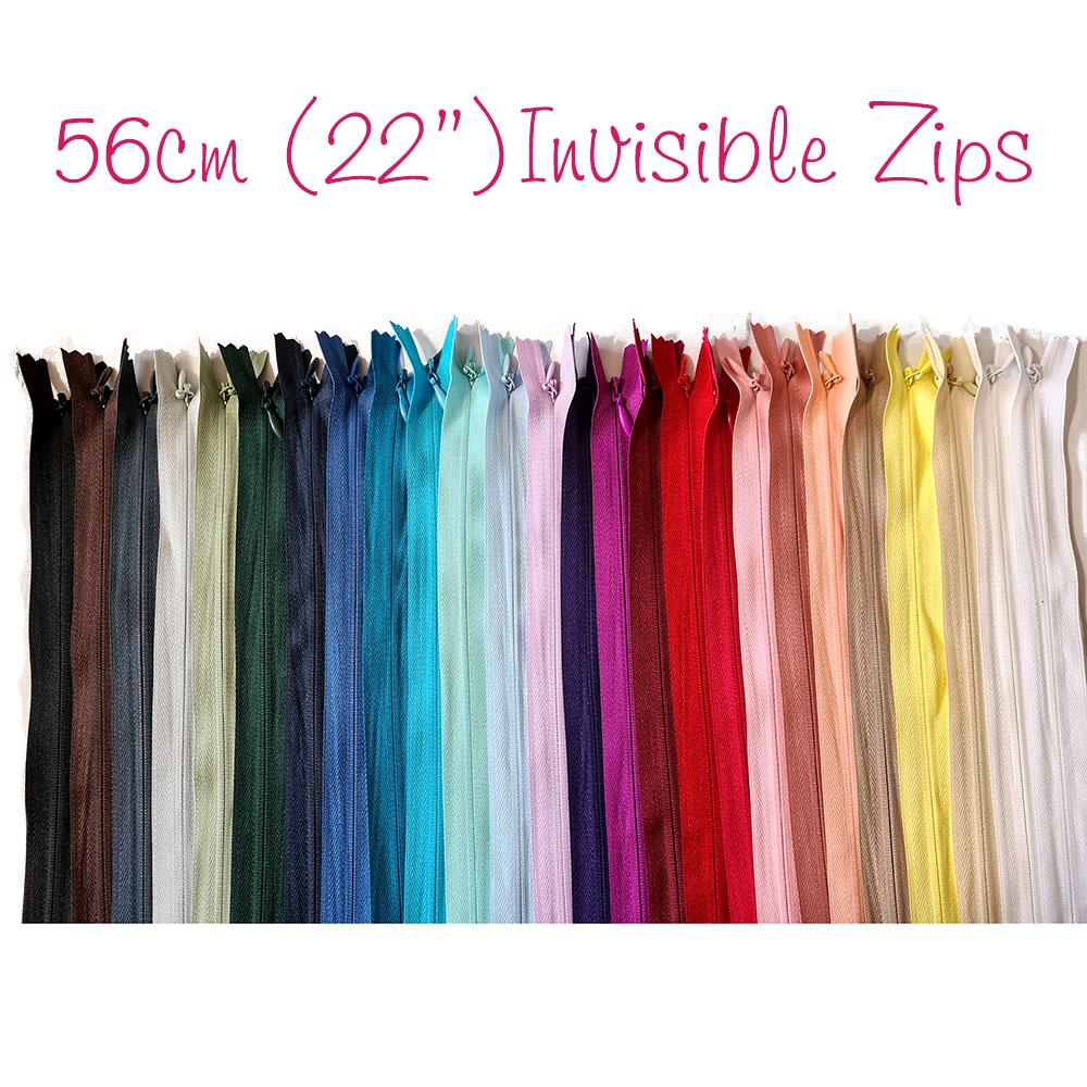 "Invisible Zip 56cm (22"")"