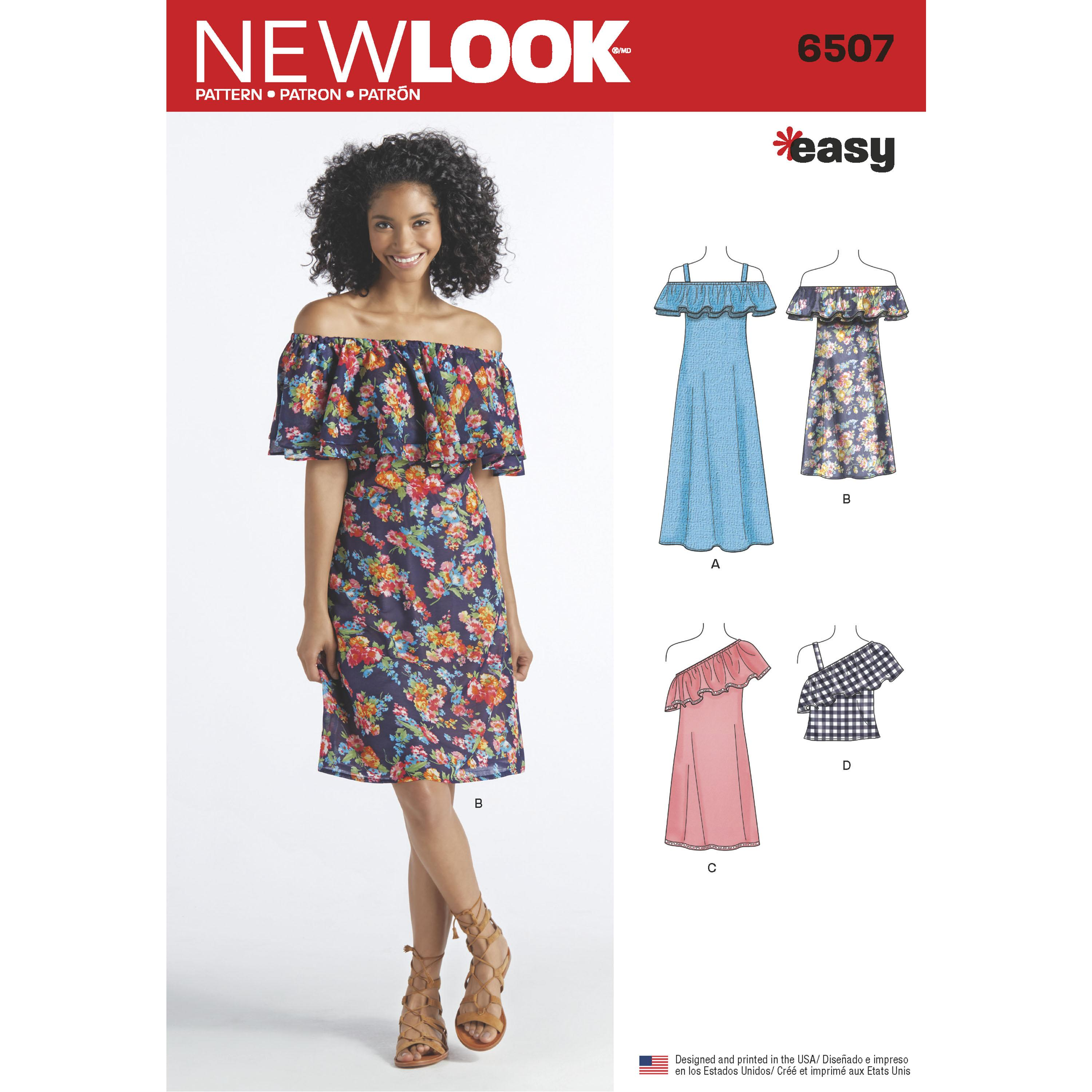 NewLook N6507 Women?s   Dresses and Top