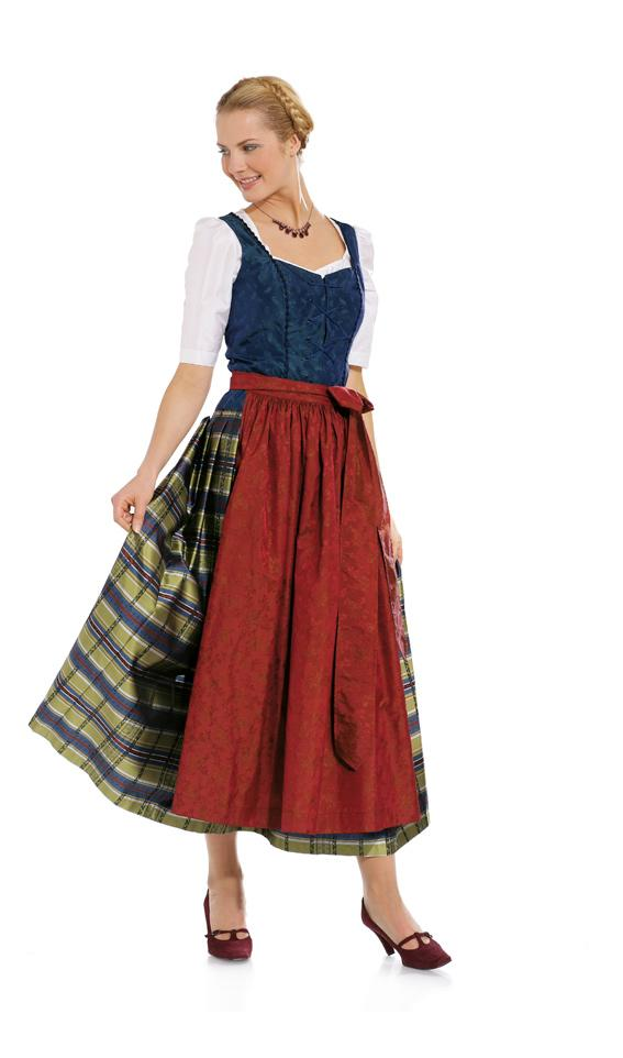 Burda B7870 Dirndl Dress Sewing Pattern