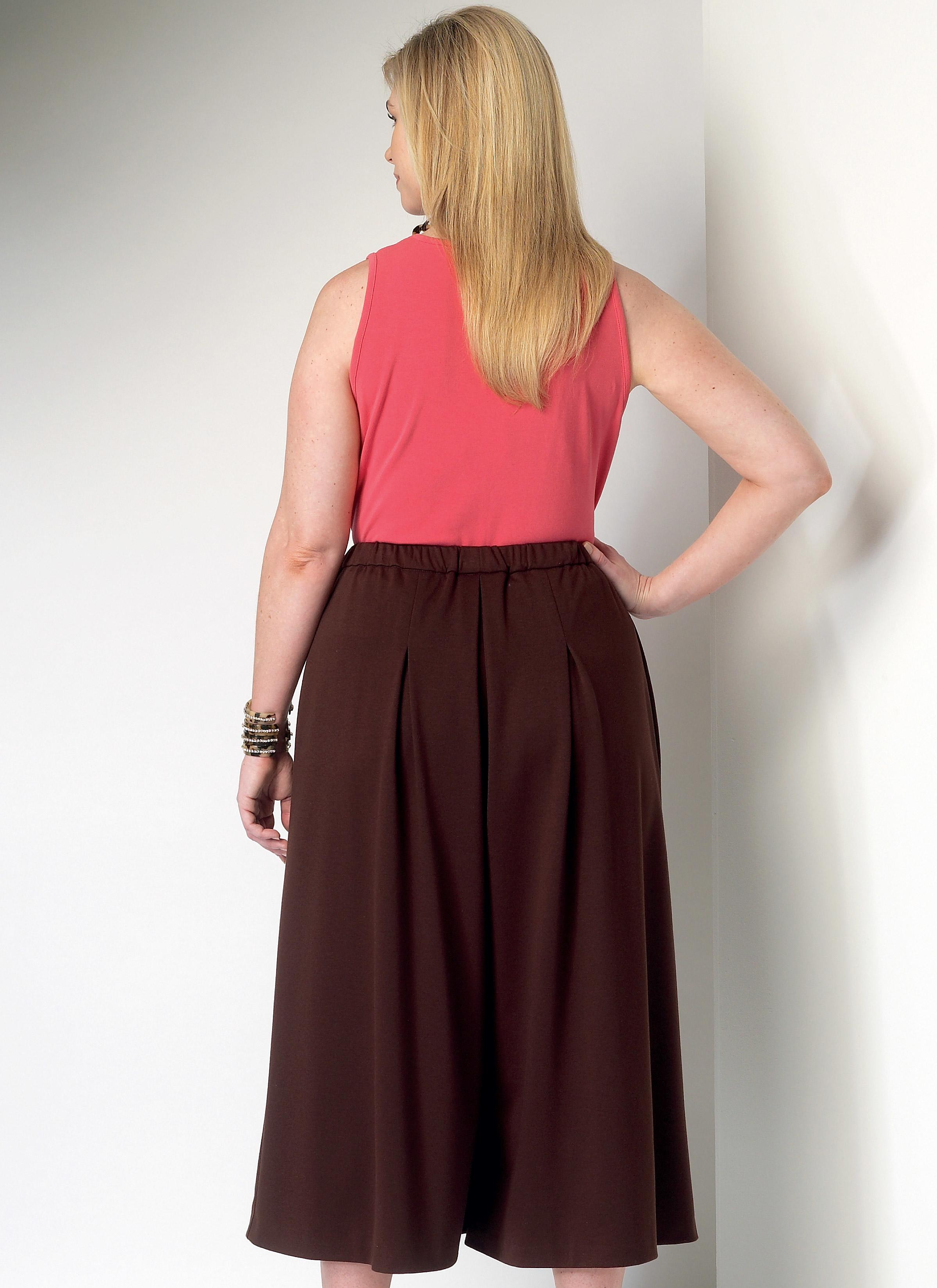 Butterick B6223 Misses'/Women's Culottes