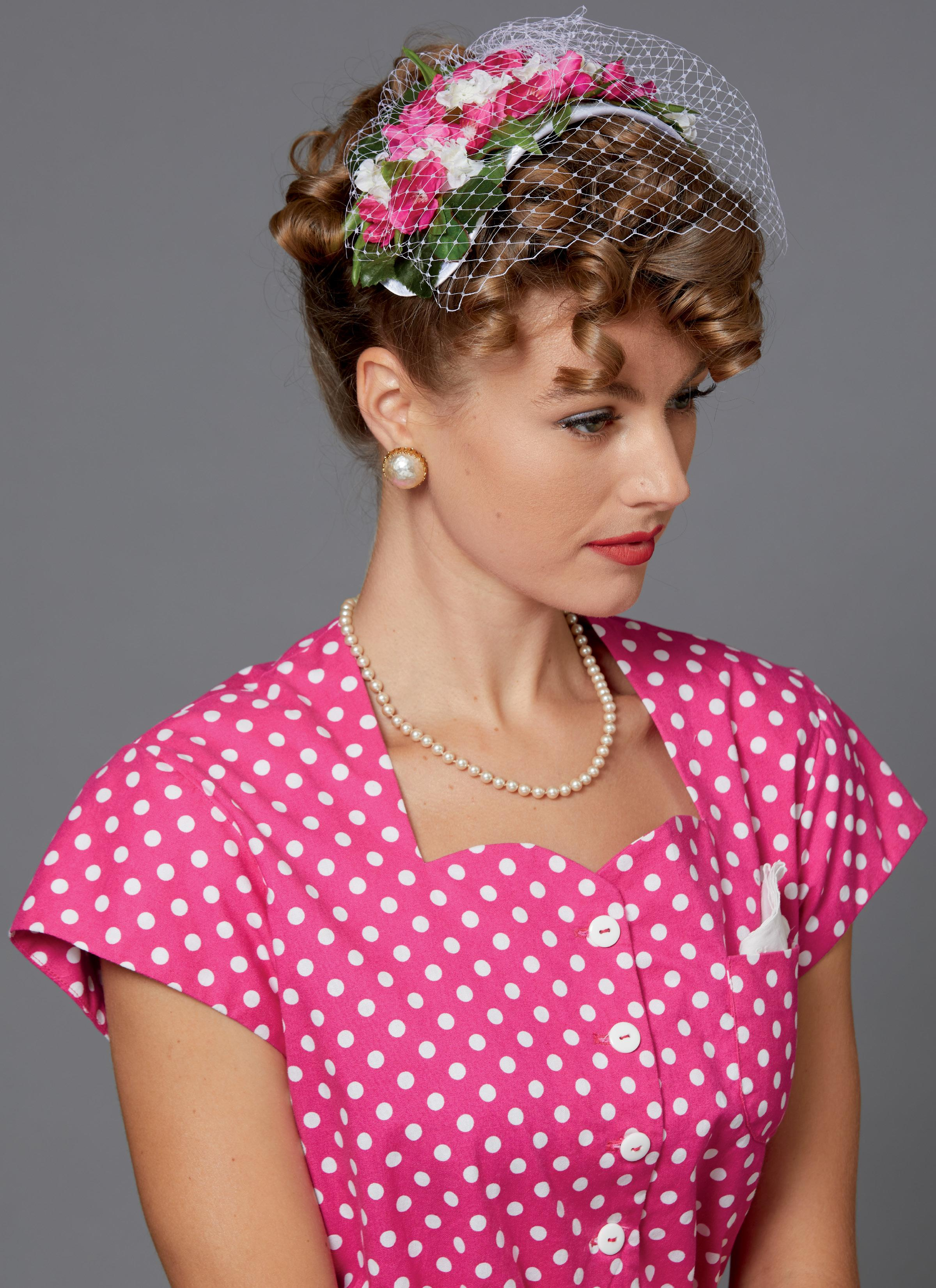 Butterick B6672 Misses' Costume and Hat