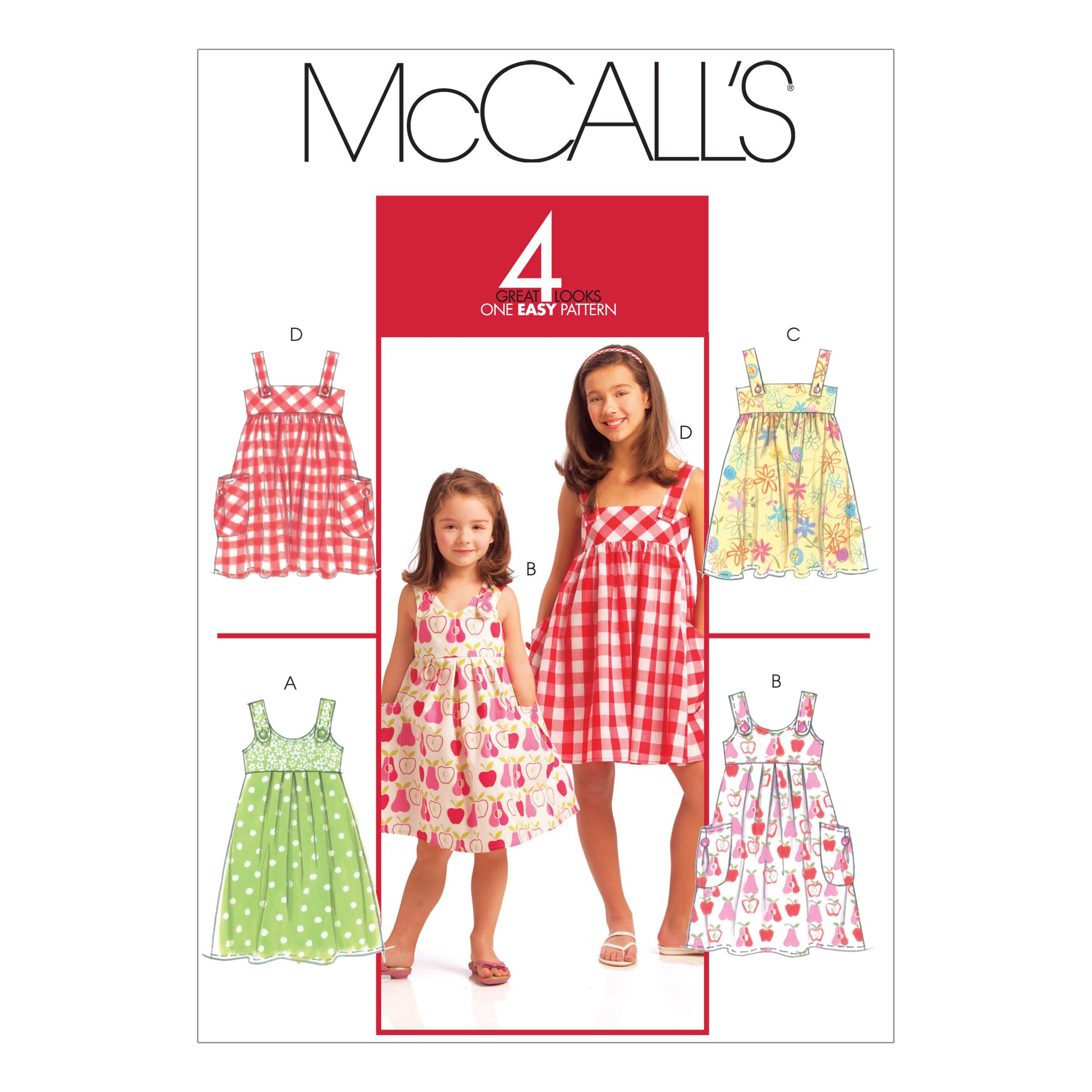 McCalls M5613 Children, Girls/Boys