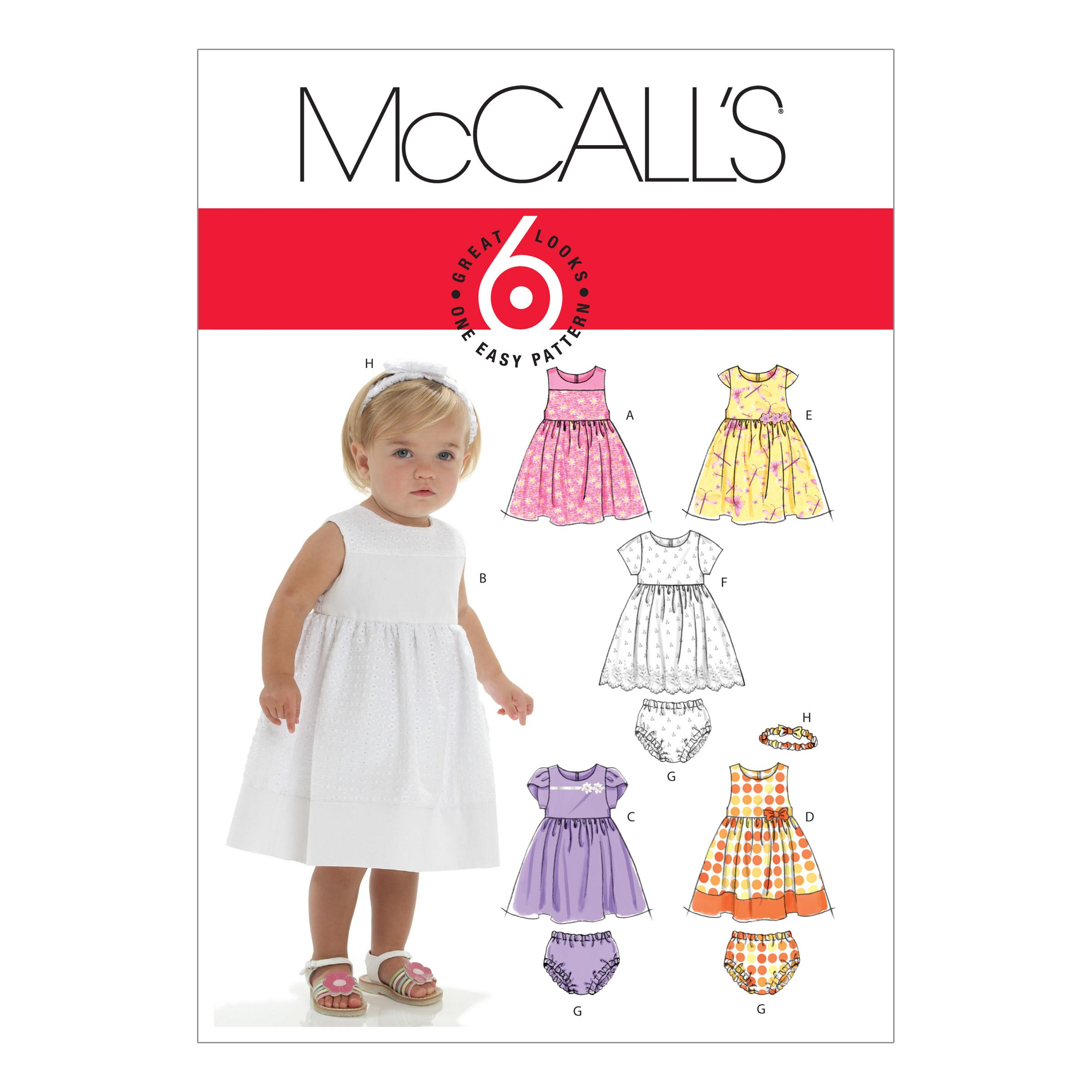 McCalls M6015 Infants/Toddlers