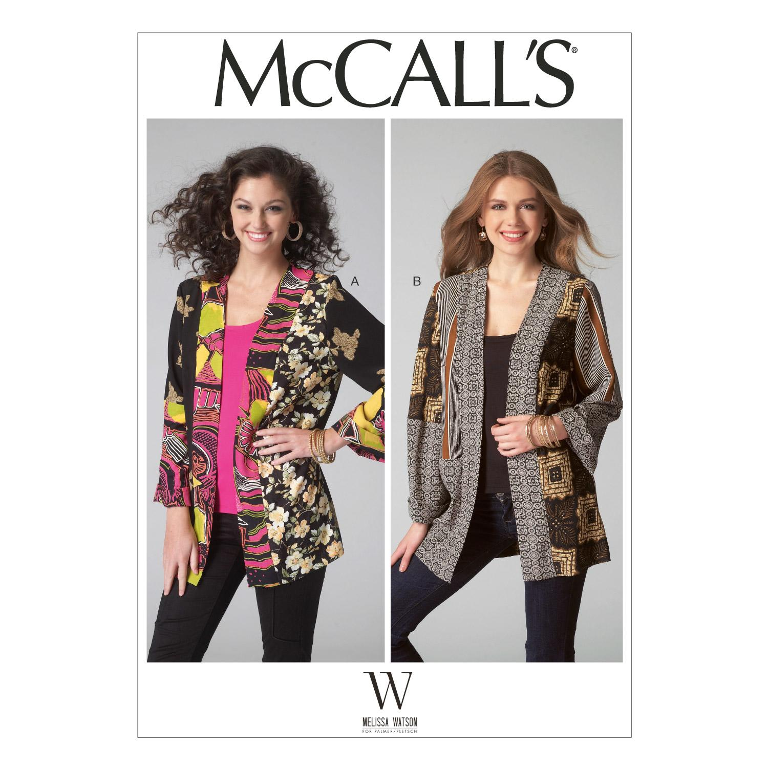 McCalls M7132 Jackets/Vests