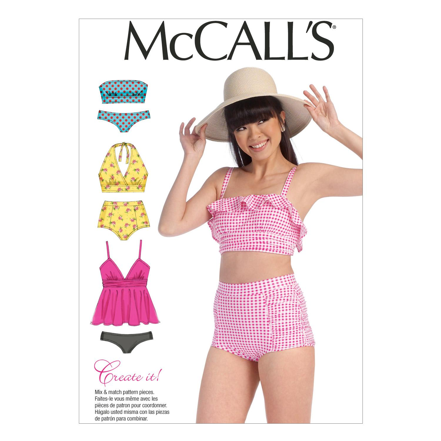 McCalls M7168 Activewear