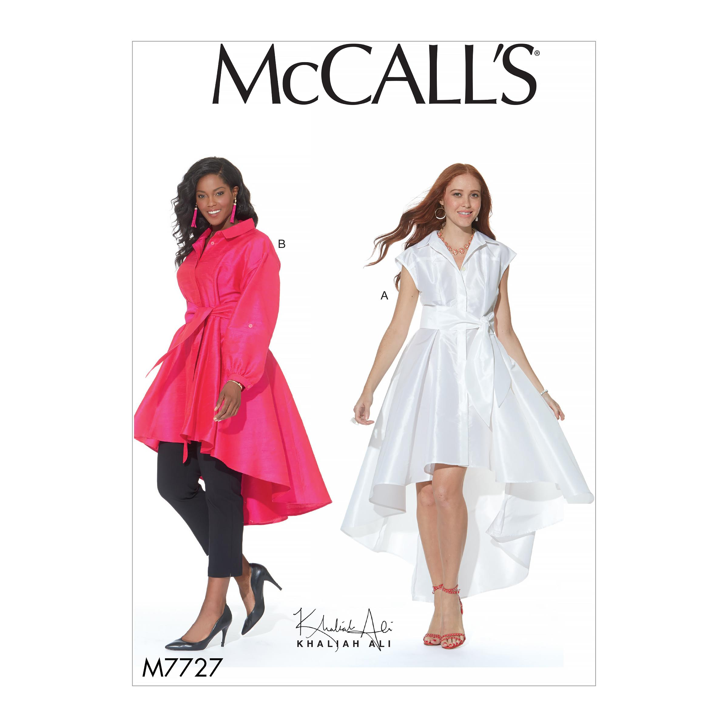 McCalls M7727 Misses Dresses, Misses Tops, Misses Prom, Evening & Bridal