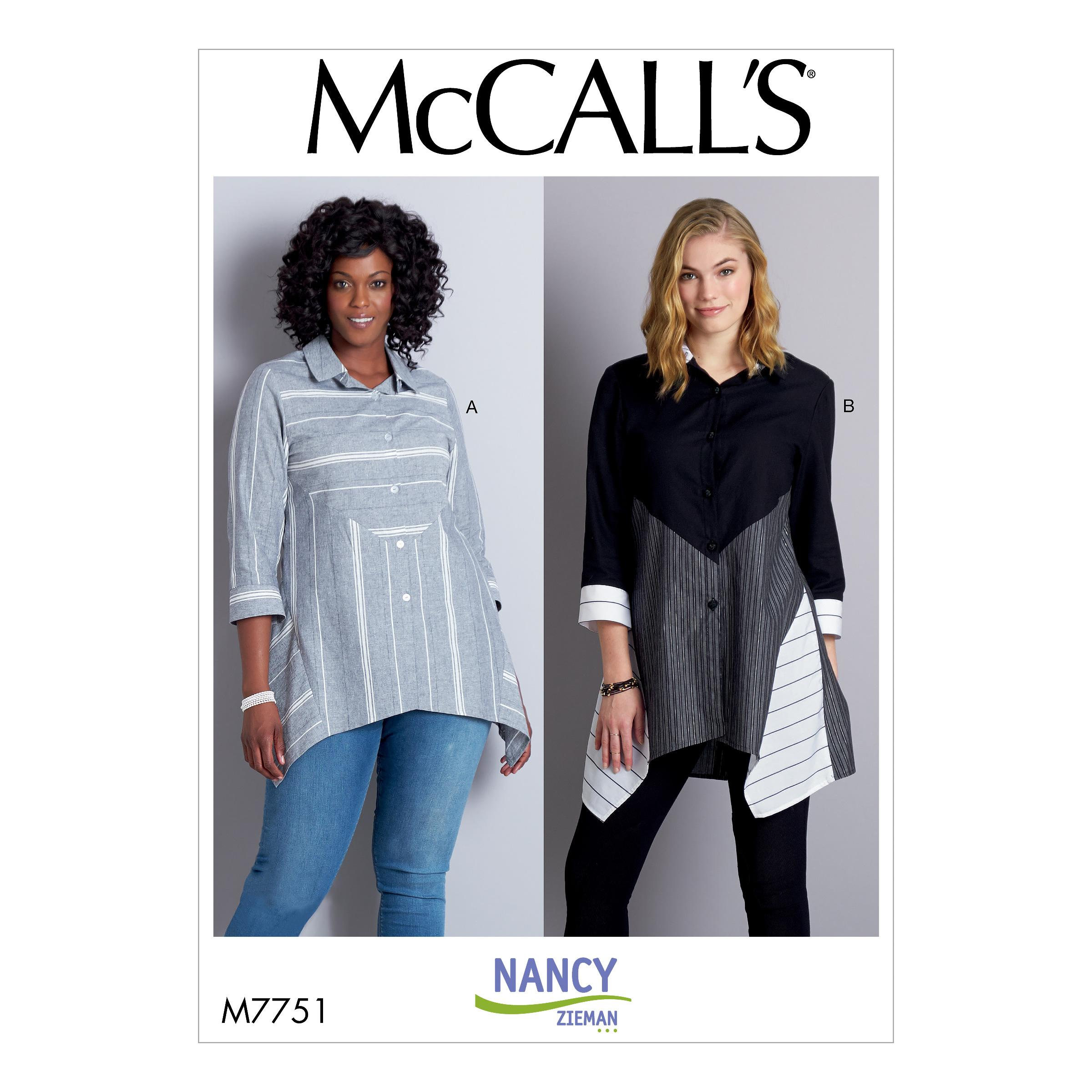 McCalls M7751 Misses Tops
