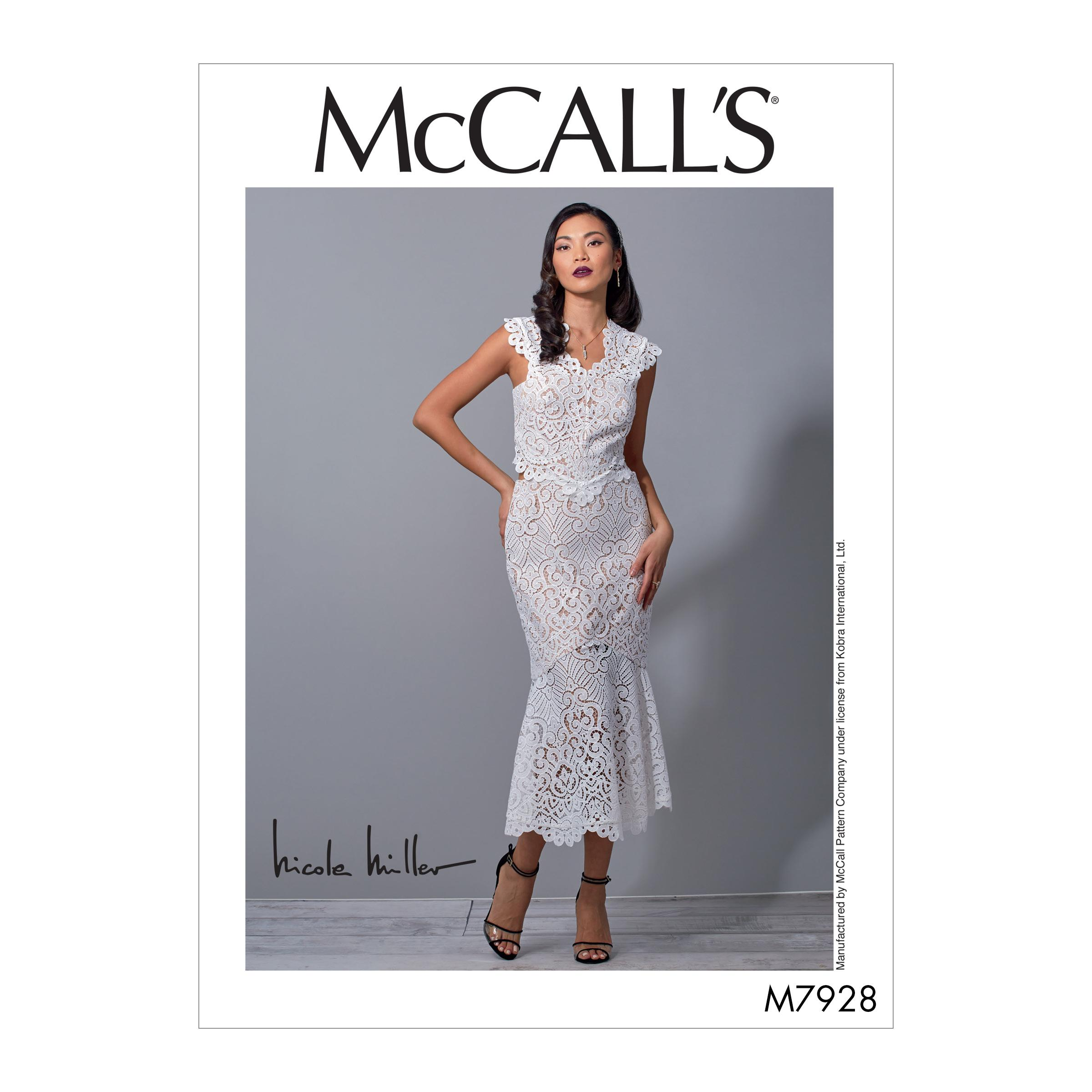 McCalls M7928 Misses Dresses, Misses Prom, Evening & Bridal