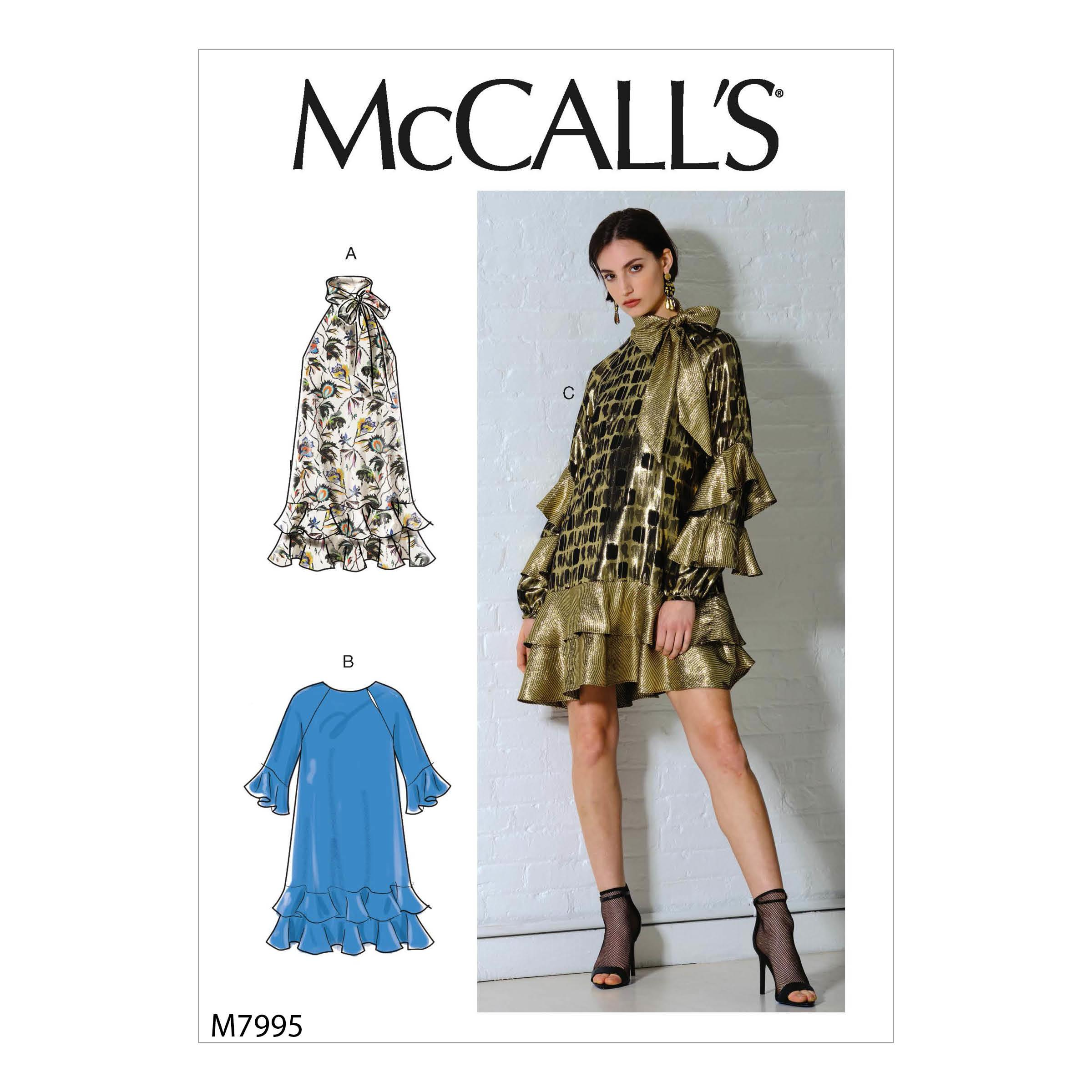McCalls M7995 Misses Dresses, Misses Prom, Evening & Bridal