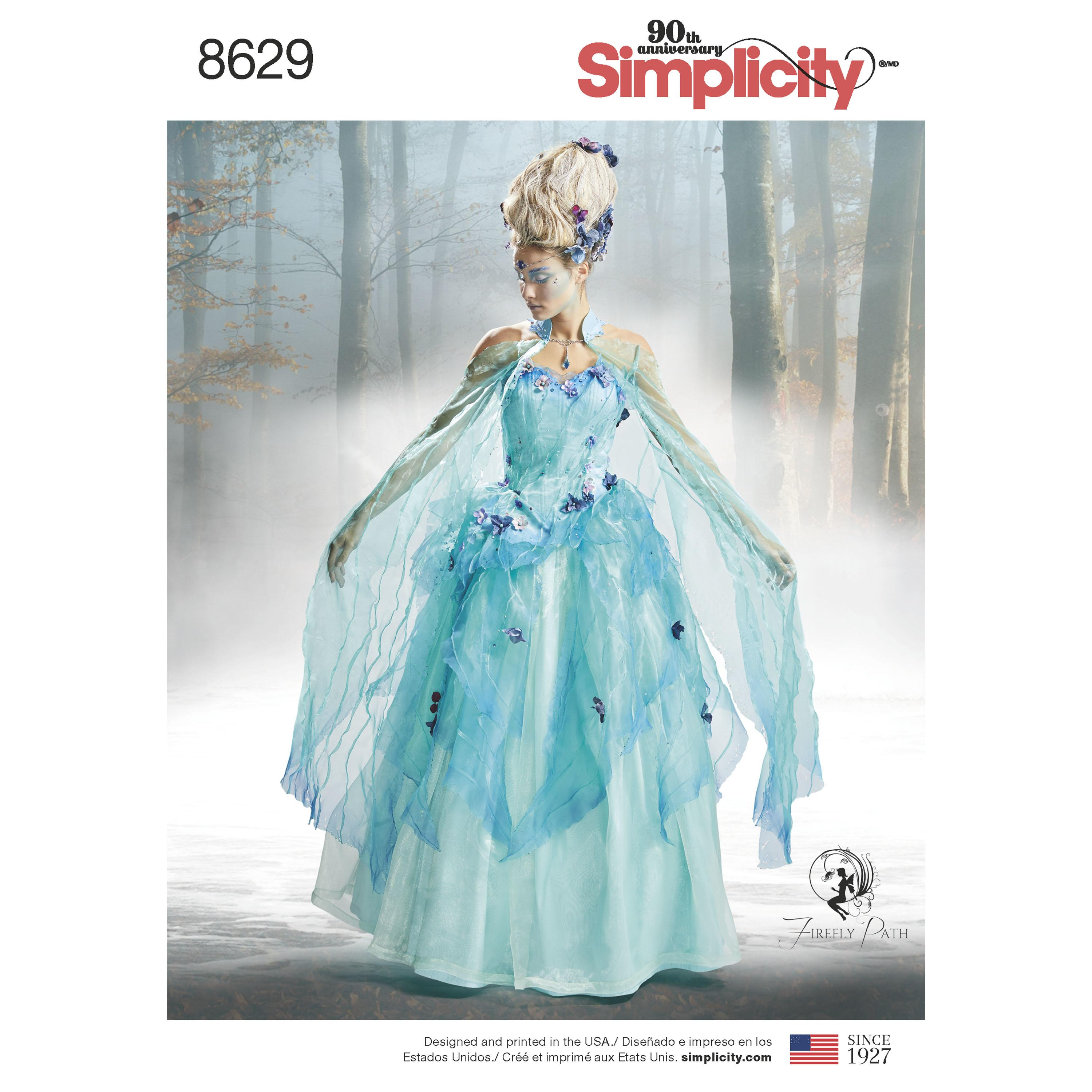Simplicity S8629 Womens Costume