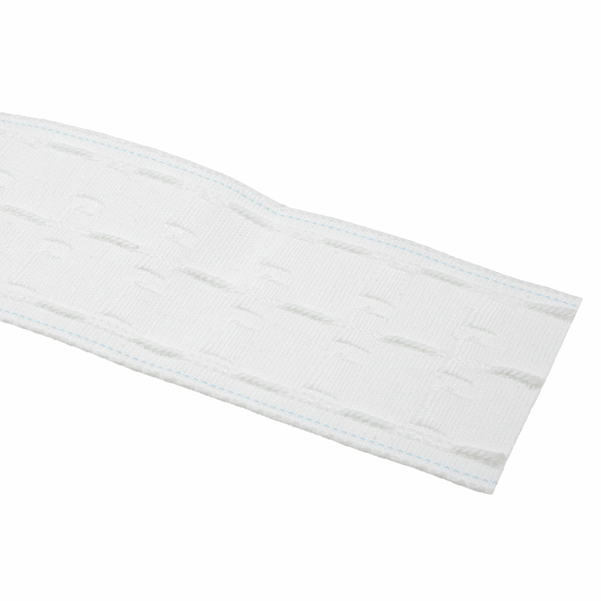 Curtain Tape: Woven Pocket Tape: Premium: Pencil Pleat 76mm (3in): White