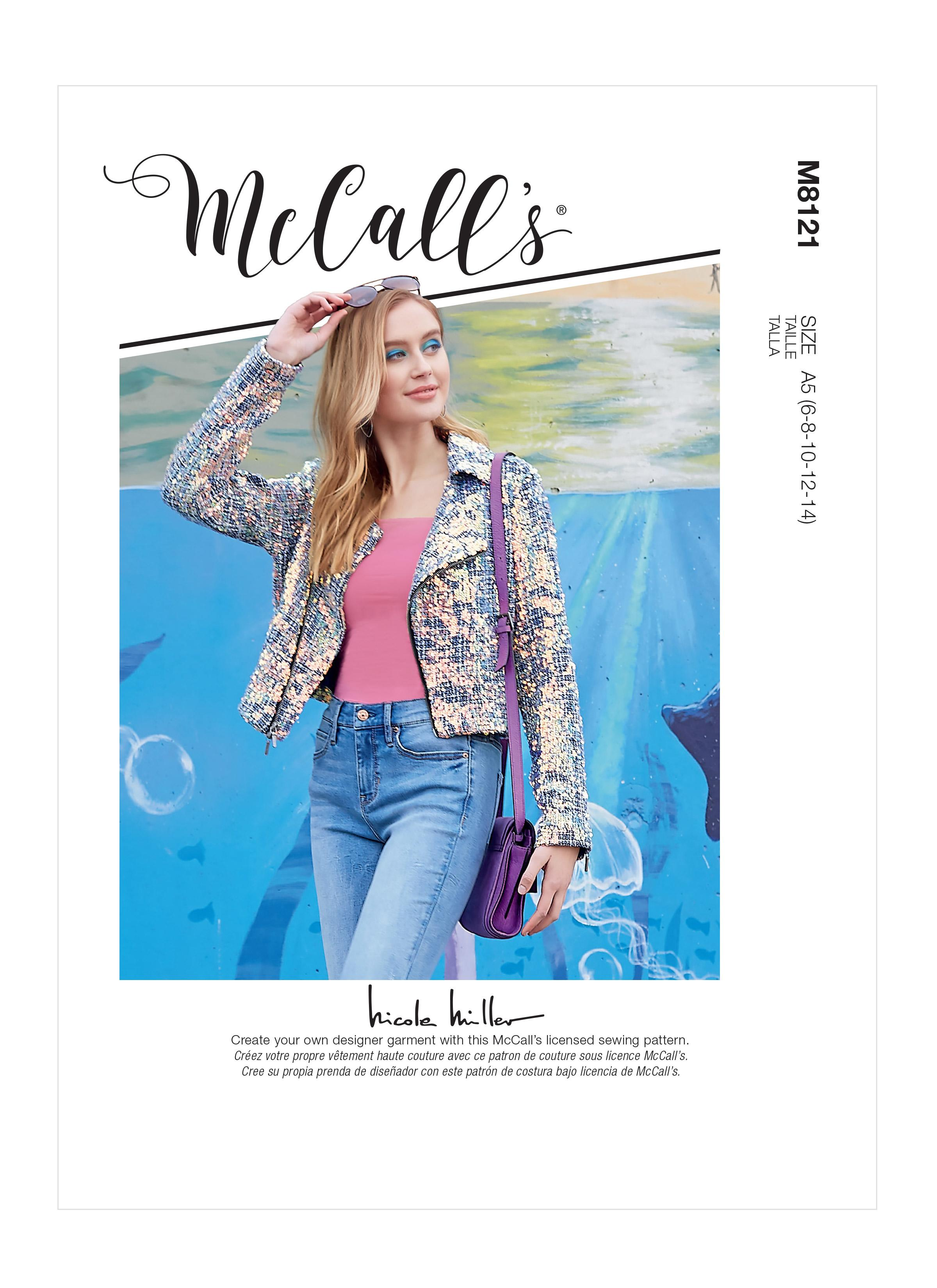 McCalls M8121 Misses' Jacket