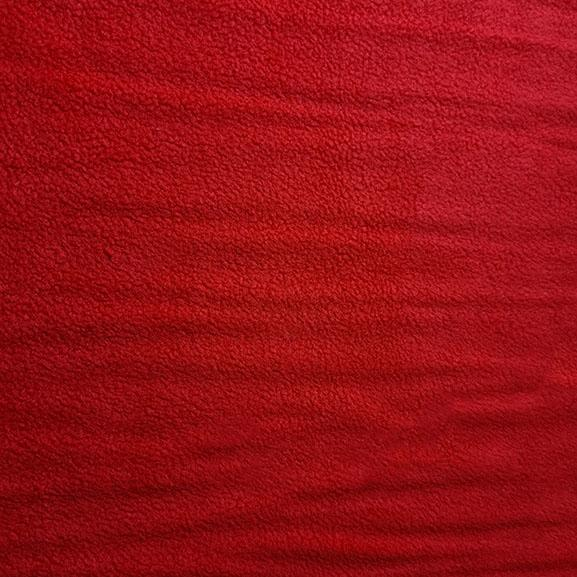 Plain Polar Fleece - Red