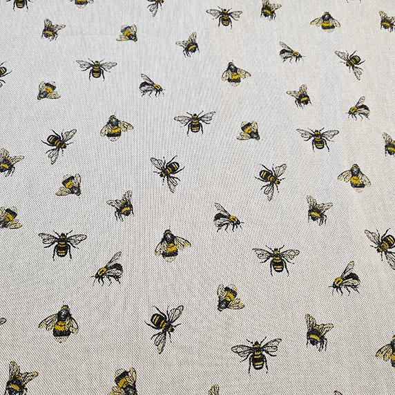 Bee Linen Look Canvas