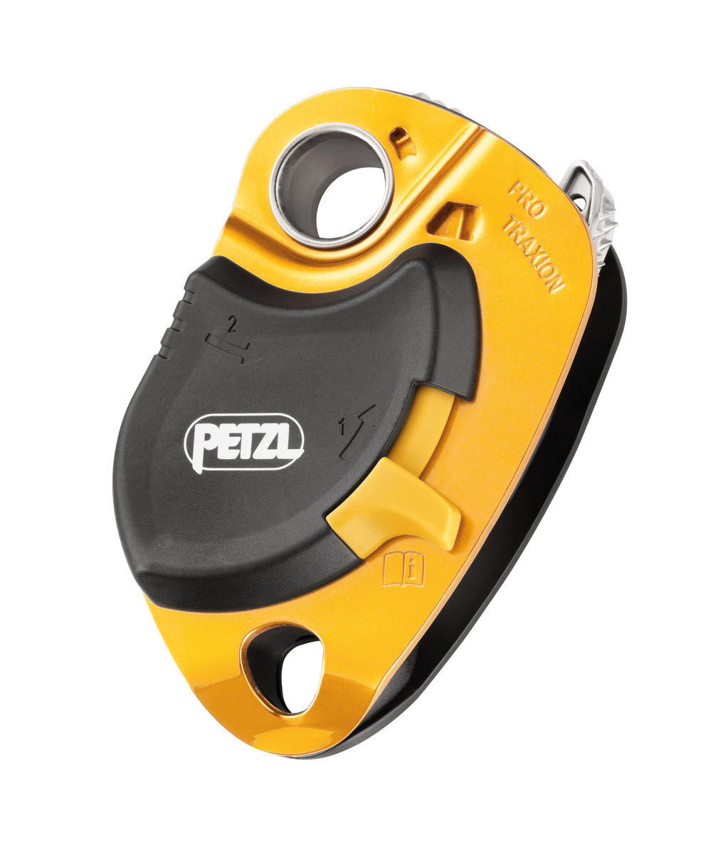 Petzl Pro Traxion capture progress pulley