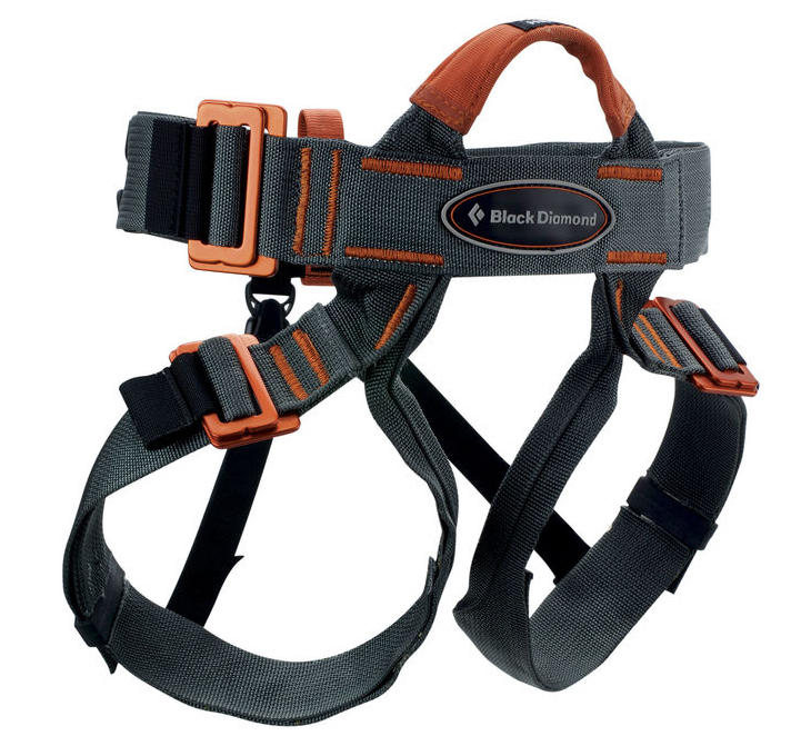 Black Diamond Variospeed climbing harness for groups