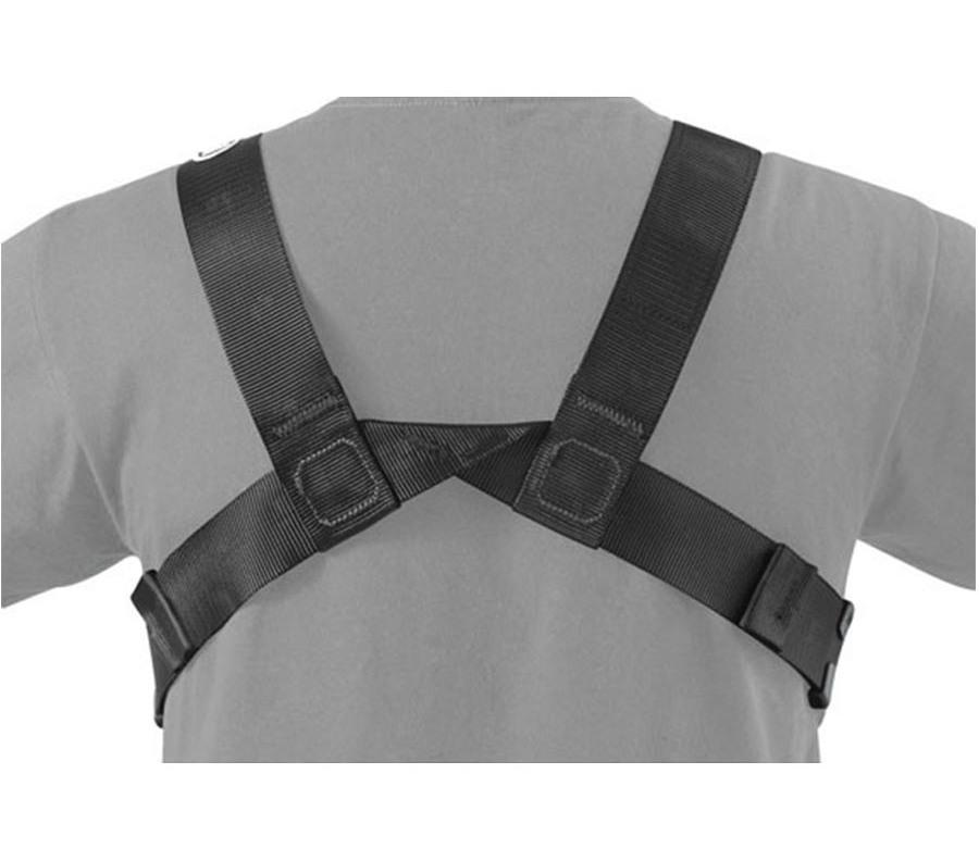 Petzl Chest'Air Chest Harness back