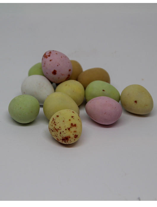 Milk Chocolate Mini Eggs, close up