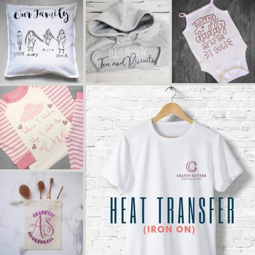 Heat Transfer (Iron On) Vinyl