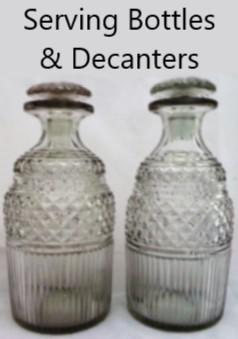 Serving Bottles, Decanters & Measures