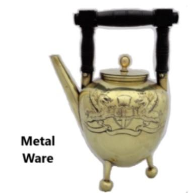 Metal ware for sale