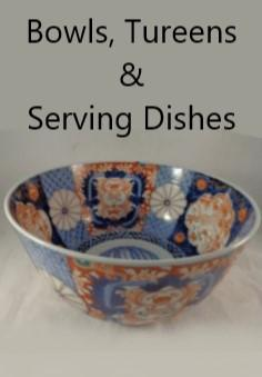 Bowls, tureens & serving dishes