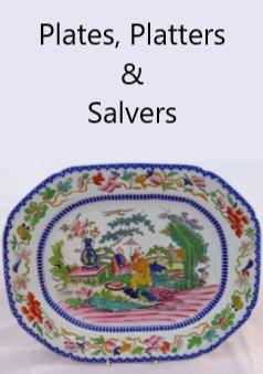 Plates, Platters, salvers & trays