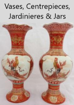 Vases, Centre-pieces, planters or jardinieres & Jars