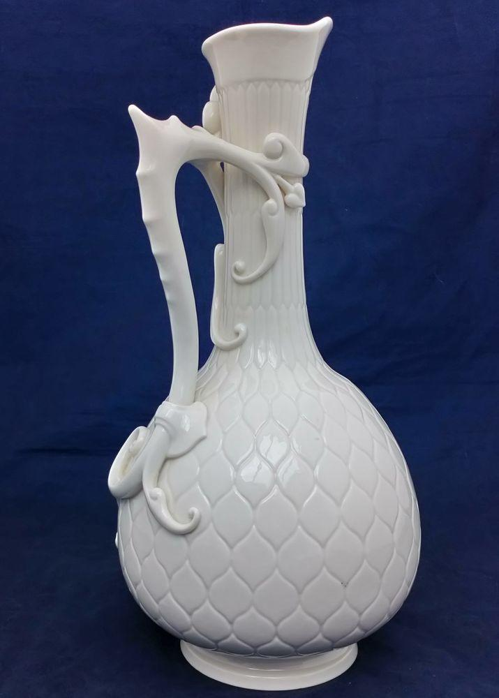 Royal Worcester Porcelain Aesthetic Persian Style Ewer 953 dated 1884