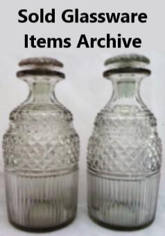 Glassware sold items archive