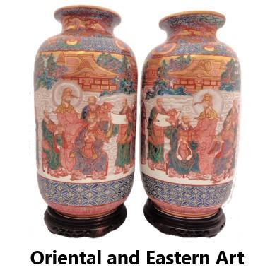 Oriental and Eastern art for sale