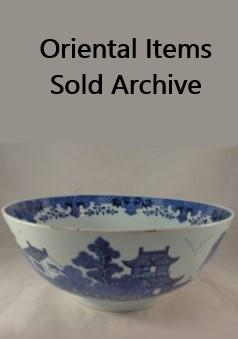 Oriental Sold Items Archive