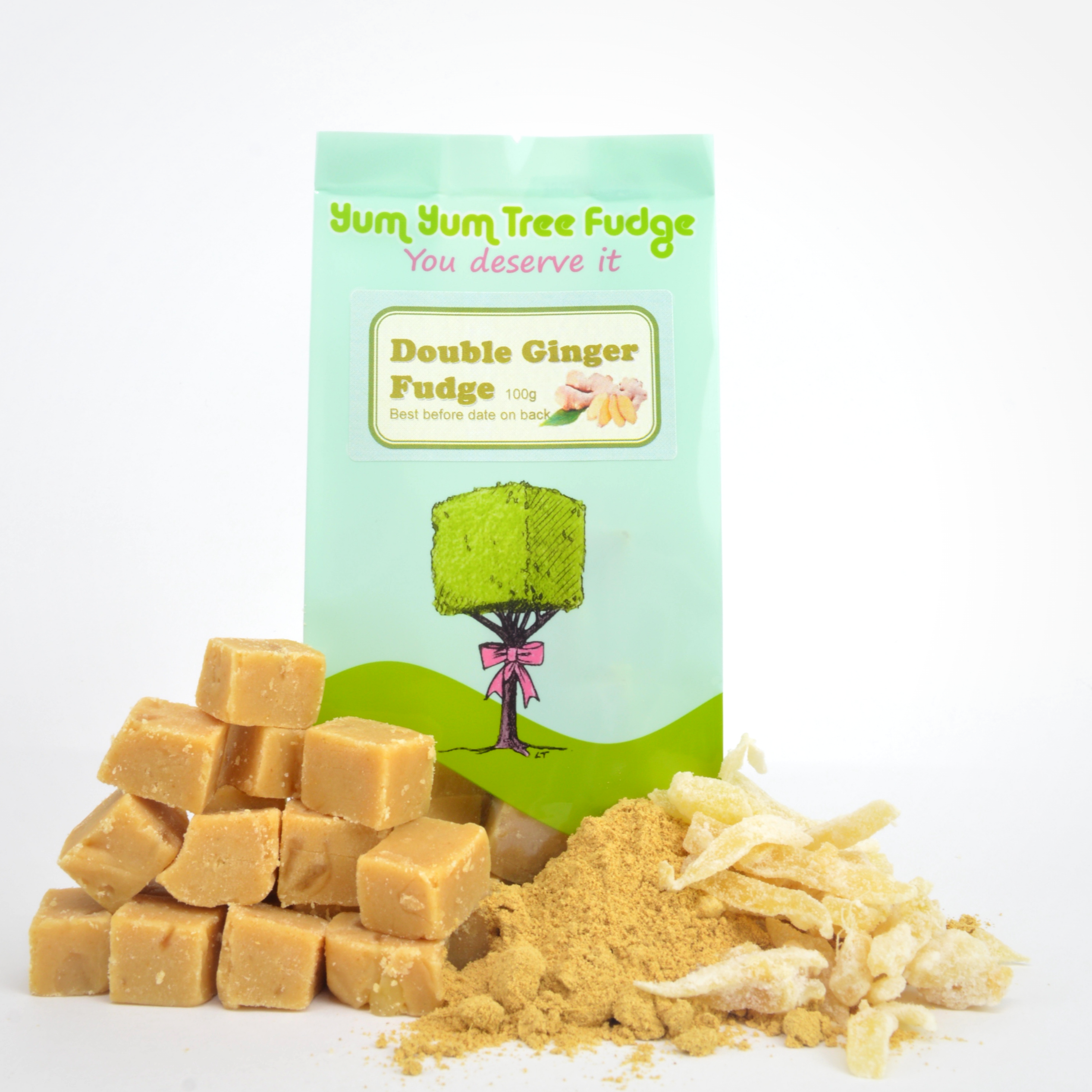 Double Ginger Fudge by Yum Yum Tree Fudge