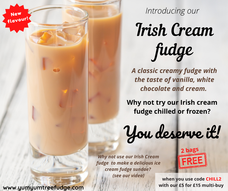 New fudge flavour - Baileys Irish Cream