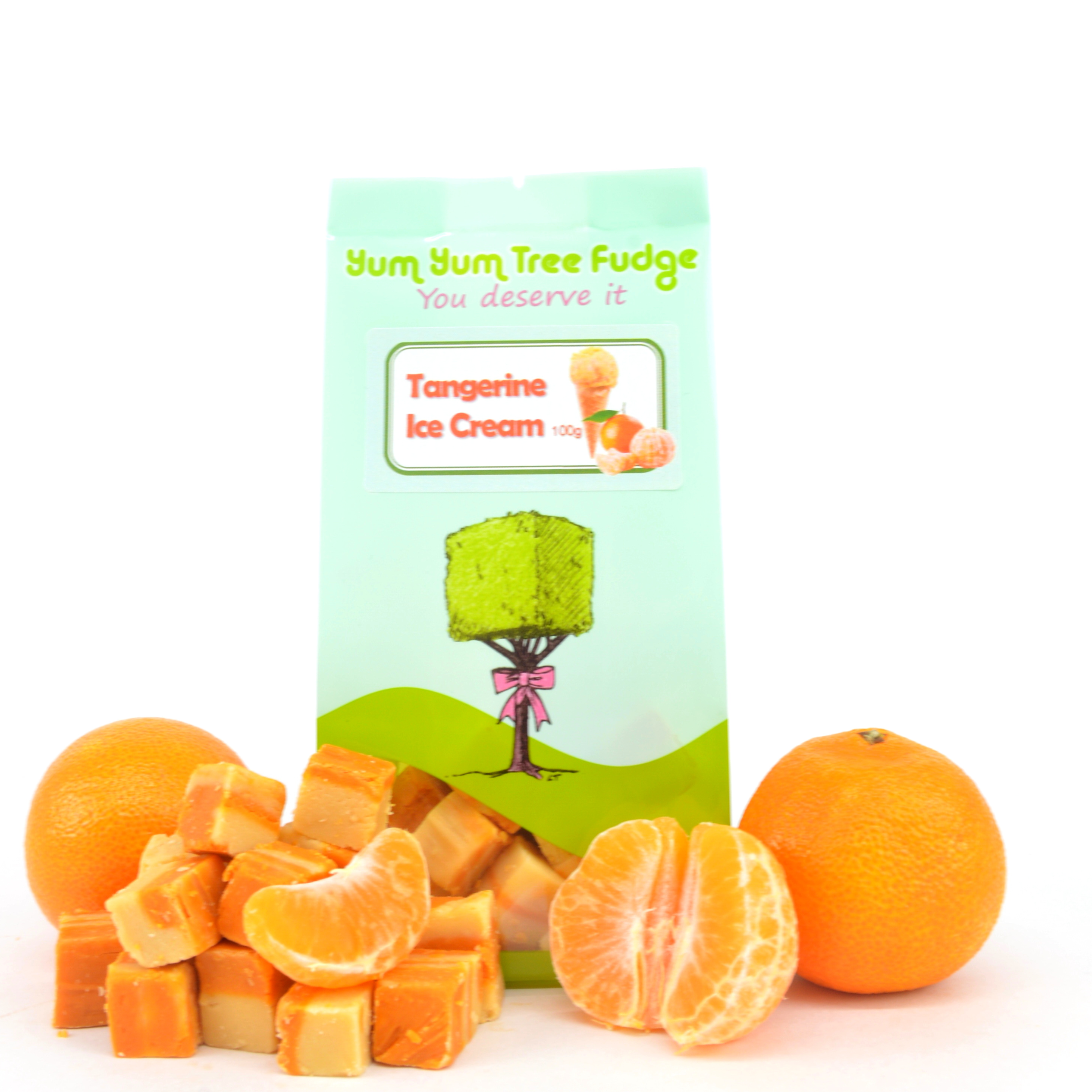 Tangerine Flavoured Fudge