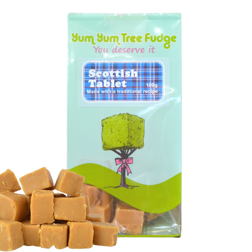 Scottish Tablet  100g Yum Yum Tree Fudge