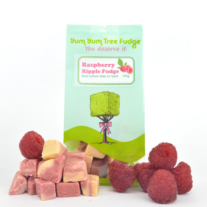Raspberry Ripple Fudge 100g
