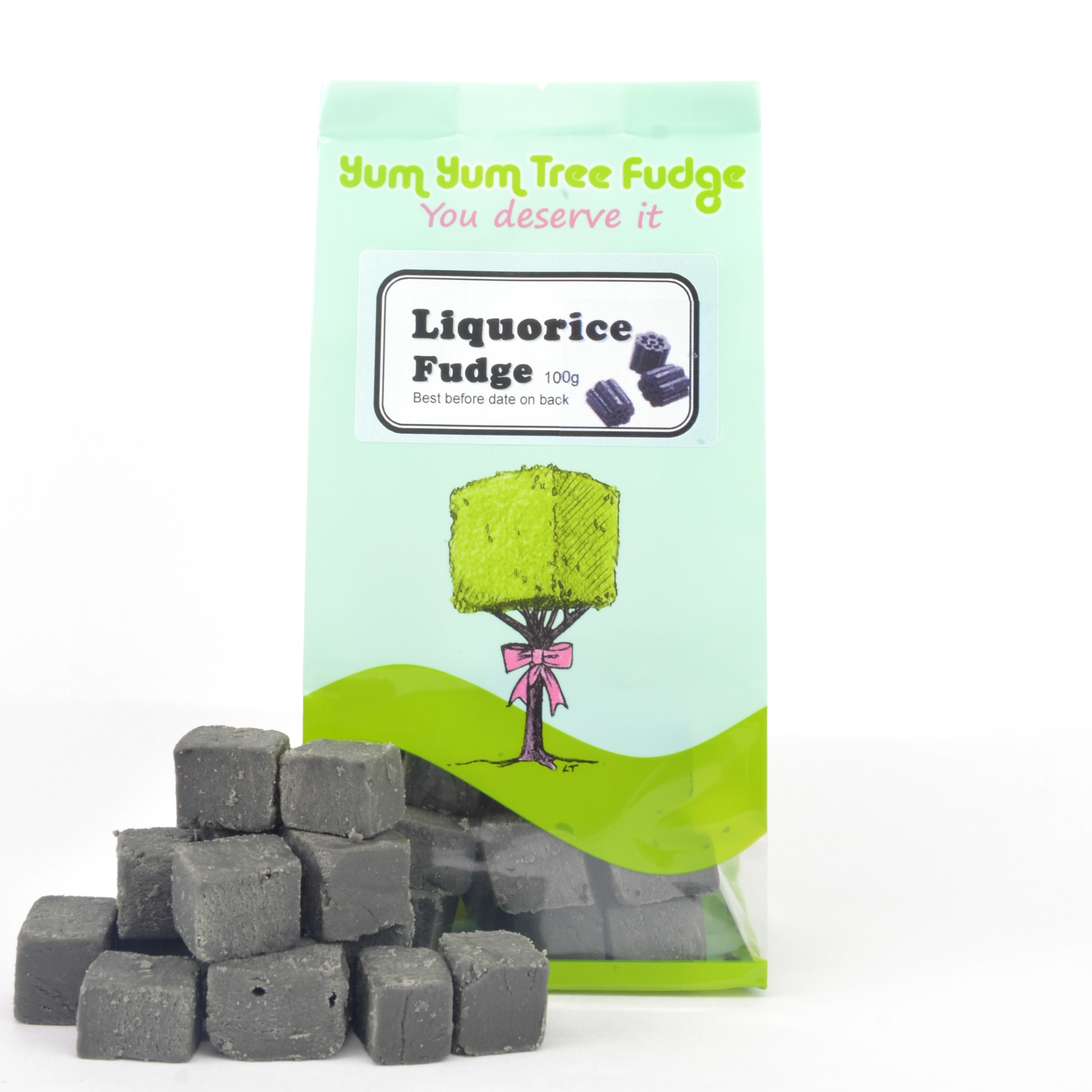 Liquorice Fudge by Yum Yum Tree Fudge