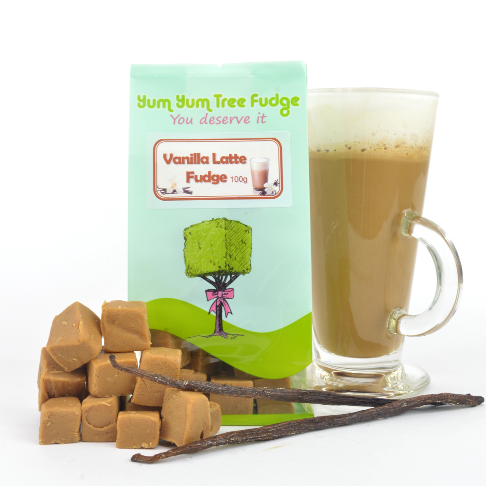 Vanilla Latte Fudge 100g Yum Yu Tree Fudge