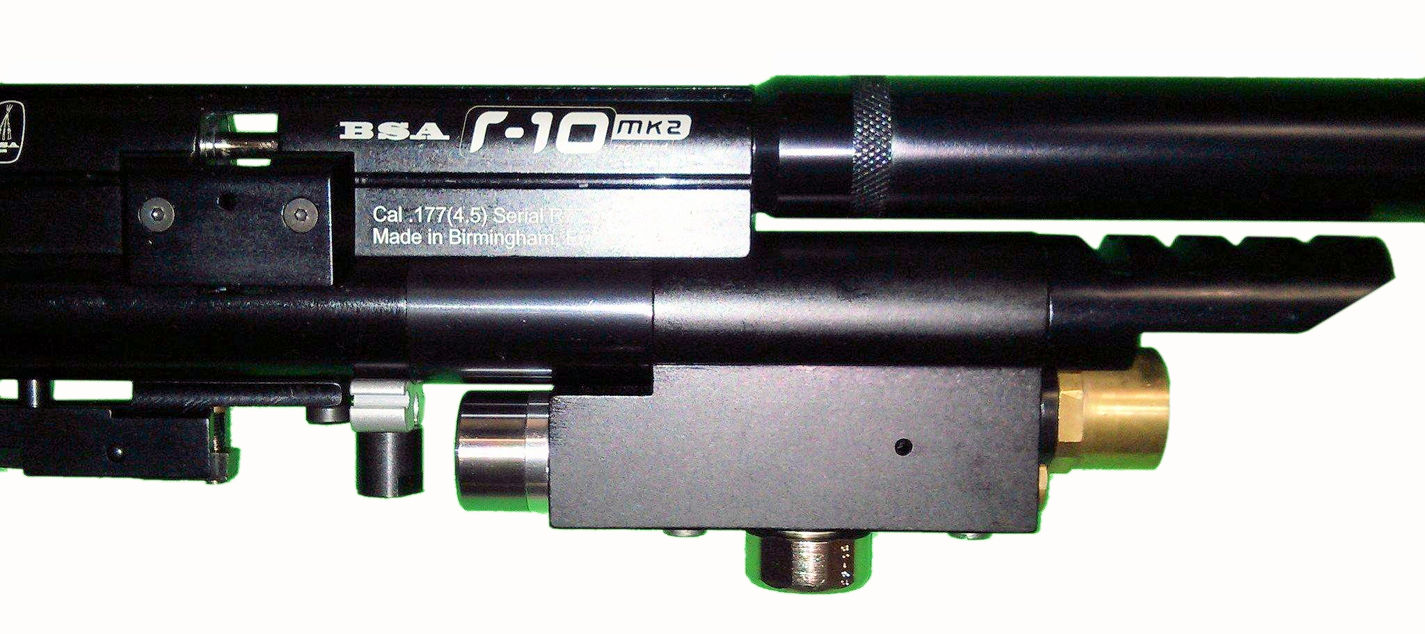 HuMa regulator fitted to an R-10 (for reference)