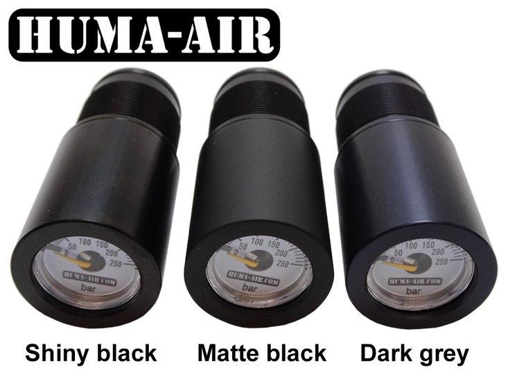 HuMa Gauges Gloss - Matt - Dark Grey