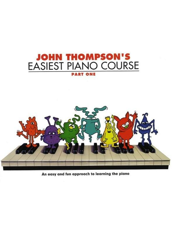 John Thompson Piano Tutoring Books