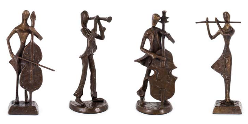 Bookends, Figurines and Bathroom Accessories
