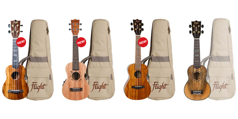 Flight Ukuleles and Guitaleles