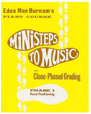 Ministeps to Music Piano Tutoring Books