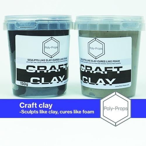 Craft foam clay - clay that cures like foam!