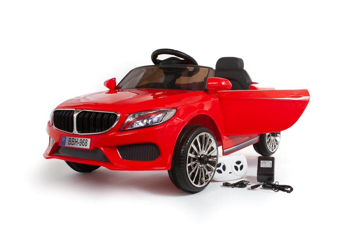 12V Red 3 Series Saloon Ride On Car