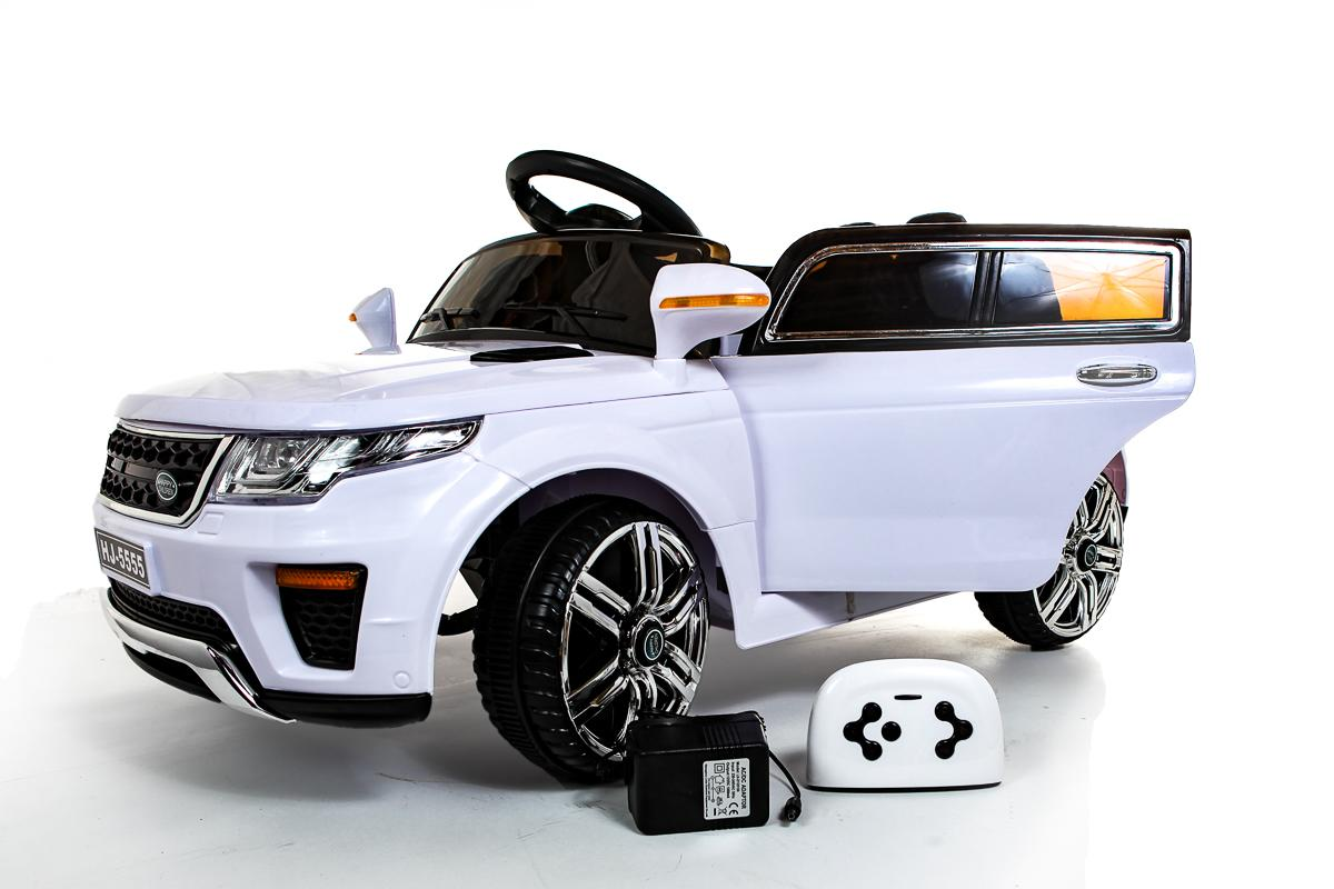 White Range Rover Style 12V Ride On Car