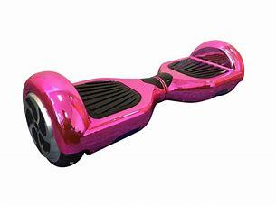 "6.5"" Pink Chrome Bluetooth Segway Hoverboard"